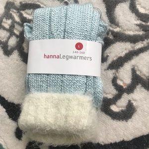 Hanna Anderson Fur Leg warmers
